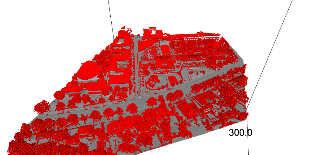 non-ground point cloud