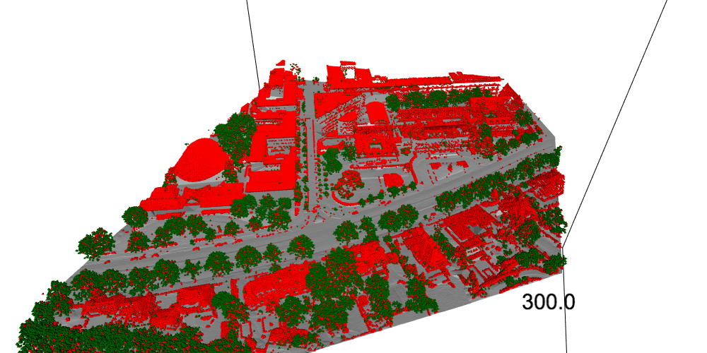 trees point cloud
